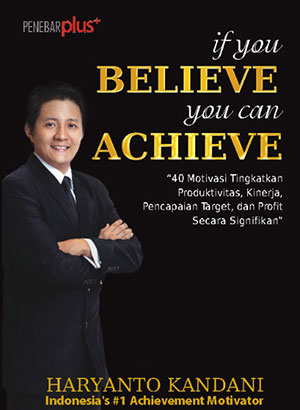 Cover Depan - Buku if you BELIEVE you can ACHIEVE